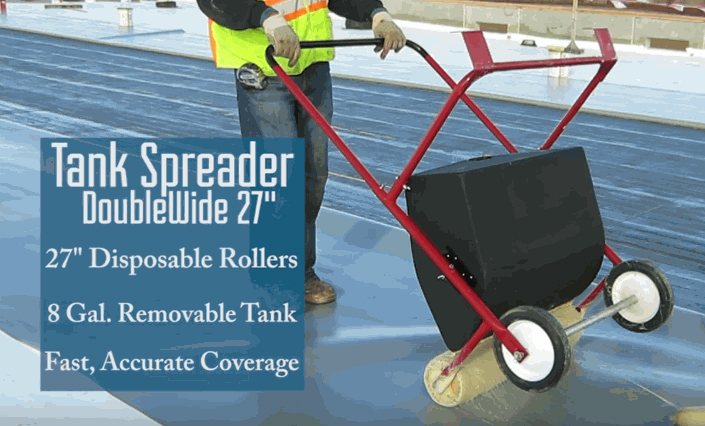Epdm Coatings Roof Spreaders
